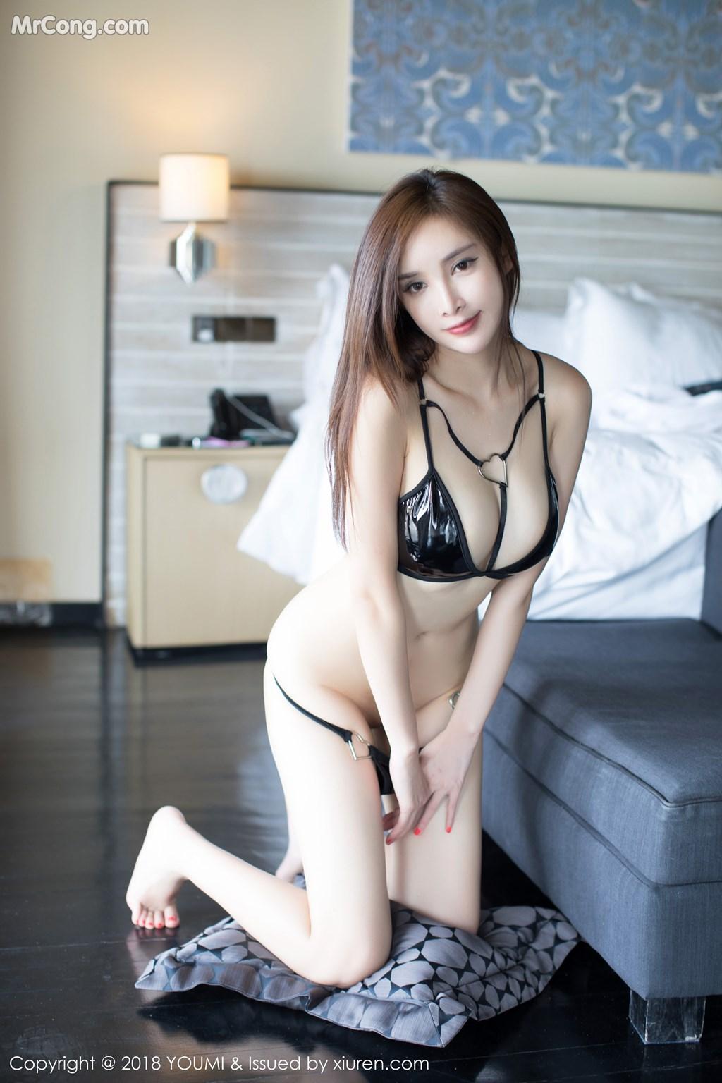 Image YouMi-Vol.237-Tu-Fei-Yuan-Ai-Cuo-Qiong-MrCong.com-007 in post YouMi Vol.237: Người mẫu 奶瓶土肥圆 (46 ảnh)