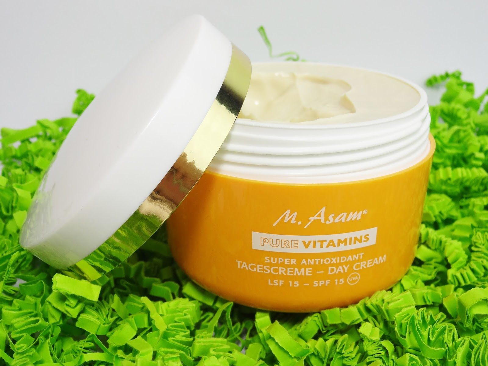 M. Asam - Pure Vitamins Super Antioxidant Tagescreme Pretty Clover Beautyblog