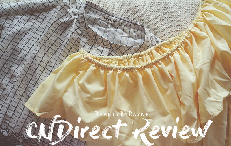 CNDirect blouses review & haul