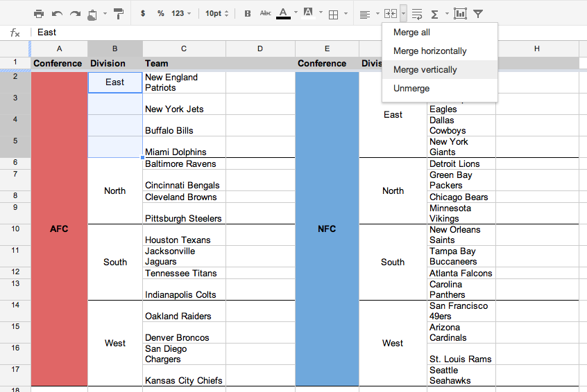 Google Drive Blog Merge Cells Vertically In Google