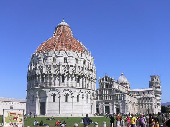 La Piazza del Miracoli. Pisa y su torre inclinada