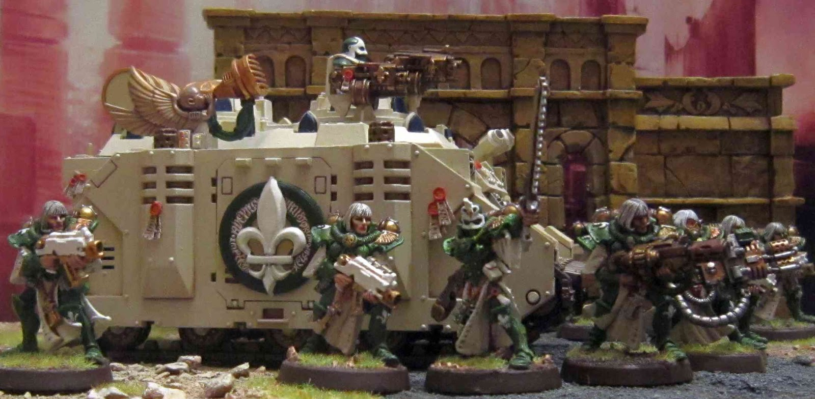 battle sister squard by - photo #10