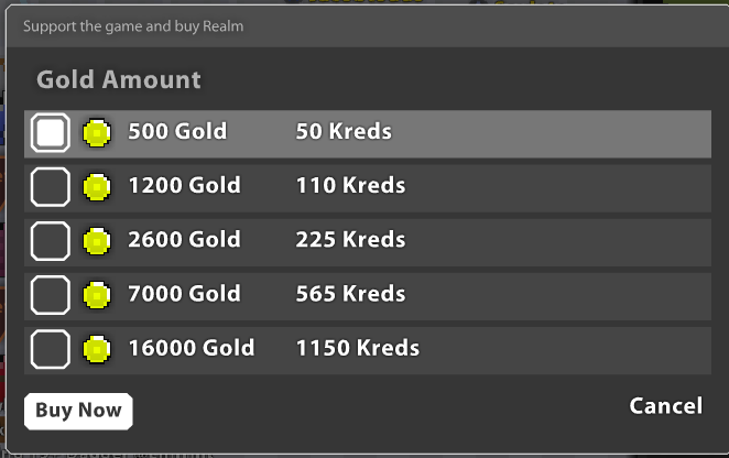 When You Finally Earned Enough Kreds Go The Nexus And To Gold Are Presented With Above Options