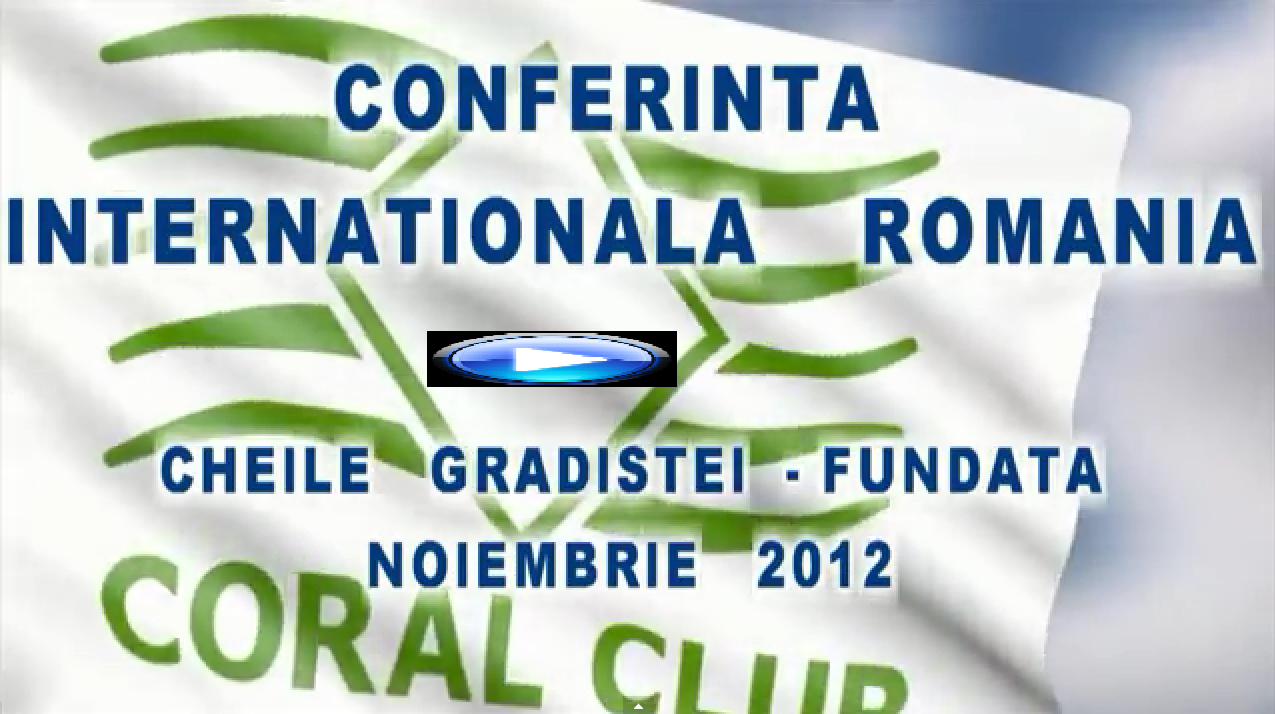 ConferintaInternationala CORAL CLUB ROMANIA