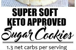Super Soft Keto Approved Sugar Cookies