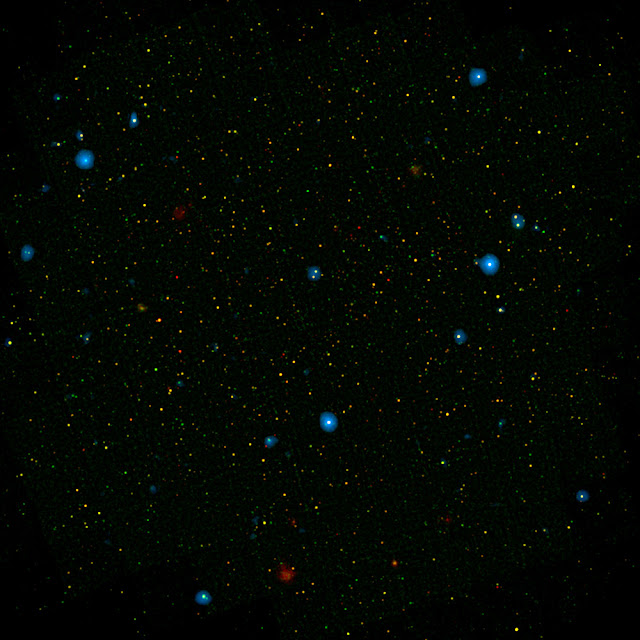 Chorus of black holes radiates X-rays