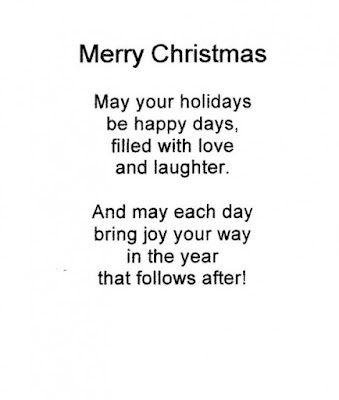 merry christmas poem