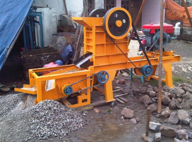 Harga Dan Spesifikasi Mesin Stone Crusher Terbaru