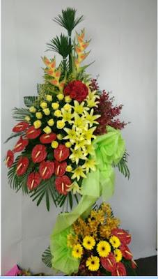 hoa tuoi trang bom