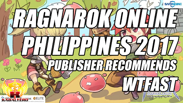 Ragnarok Online Philippines Publisher Recommends WTFast