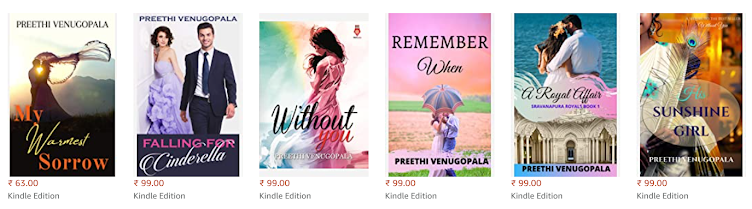 Click here to check out Preethi's other novels from Amazon