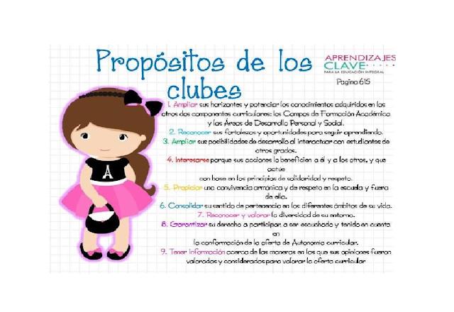 clubes,primaria,niños