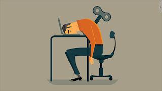 Menghilangkan jenuh dan bosan sama pekerjaan