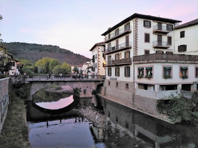 Rio Baztan por Elizondo