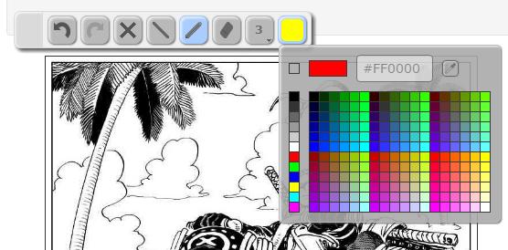 Image%2B003 - 《PaintsChainer》超狂的AI人工智慧幫你自動上色,黑白漫畫直接變全彩!