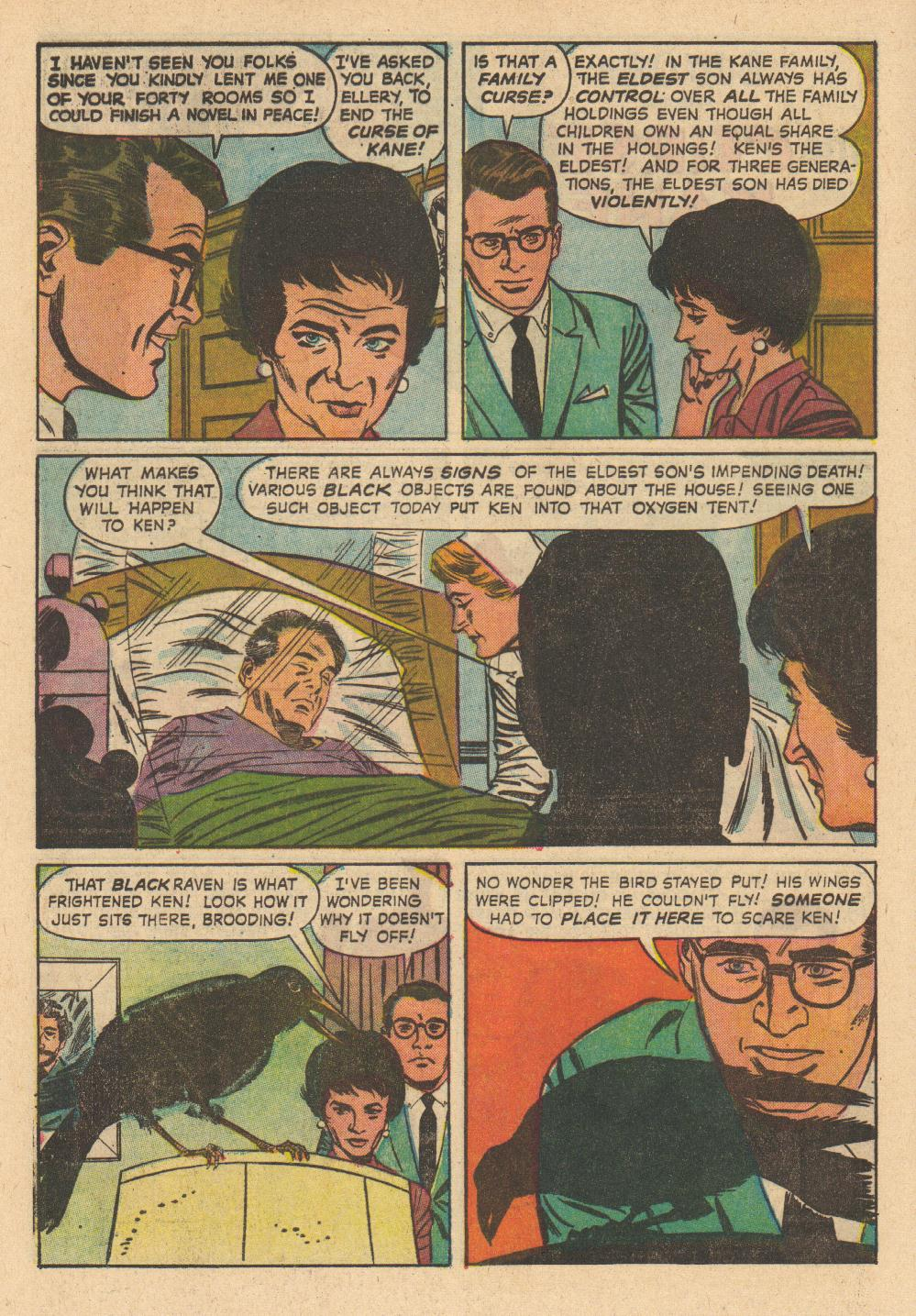 Saved From The Paper Drive: Comic Book Short Story-~Ellery Queen