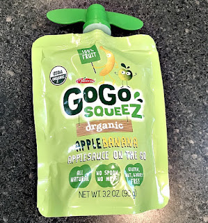 Gogo squeeze recycled applesauce tops