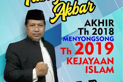 Hari Ini, Masjid Hidayatullah Solo Gelar Muhasabah Akhir Tahun 2018