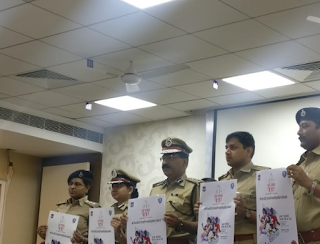 'SHE' TEAMS HYDERABAD CITY POLICE TO  HOST WOMEN &CHILD SAFETY AWARNESS RUN