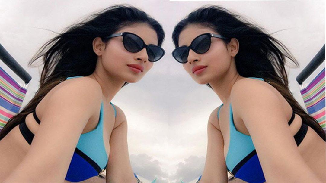Mouni Roy hot actress poses in bikini