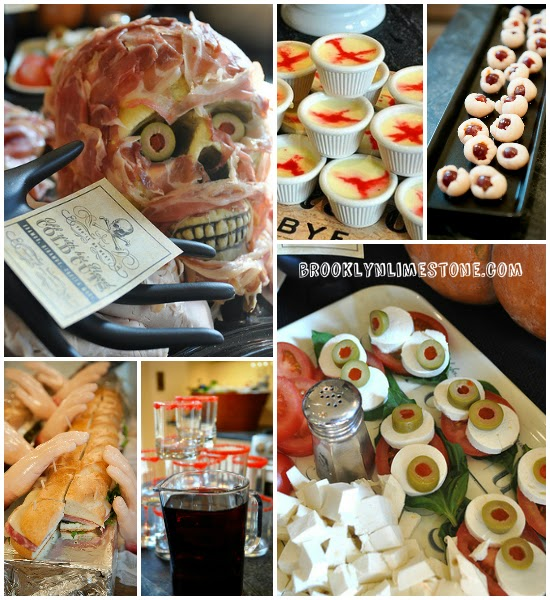 easy halloween party foods www.brooklynlimestone.com