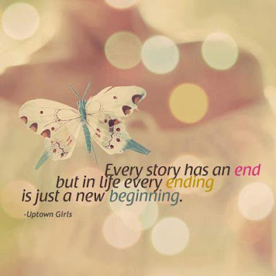 Every ending is just a new beginning