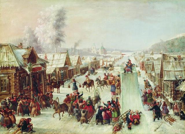 Día del zaigrysh, comienzan los juegos invernales en el festival de Máslenitsa