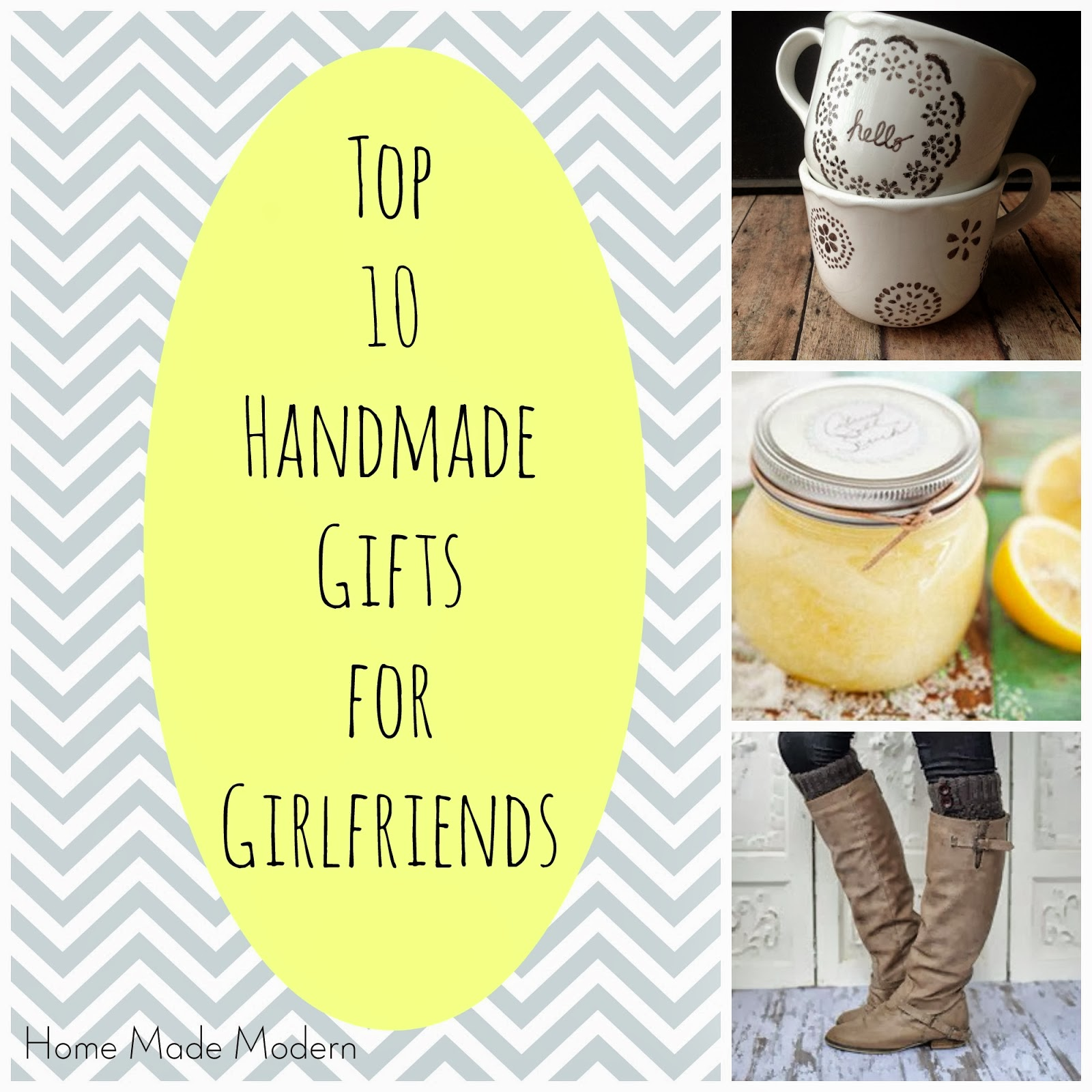 Christmas Gift Ideas For Girlfriend: Home Made Modern: Craft Of The Week: Top 10 Handmade Gifts