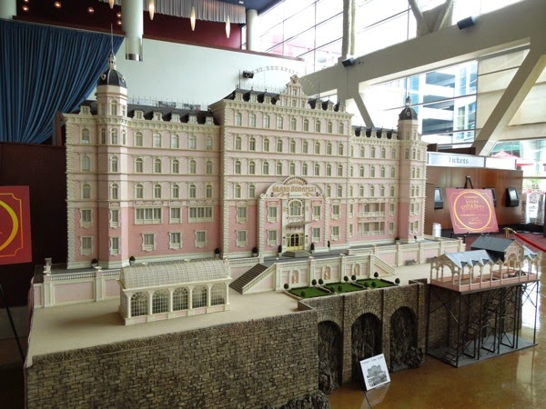 Grand Budapest Hotel original film model