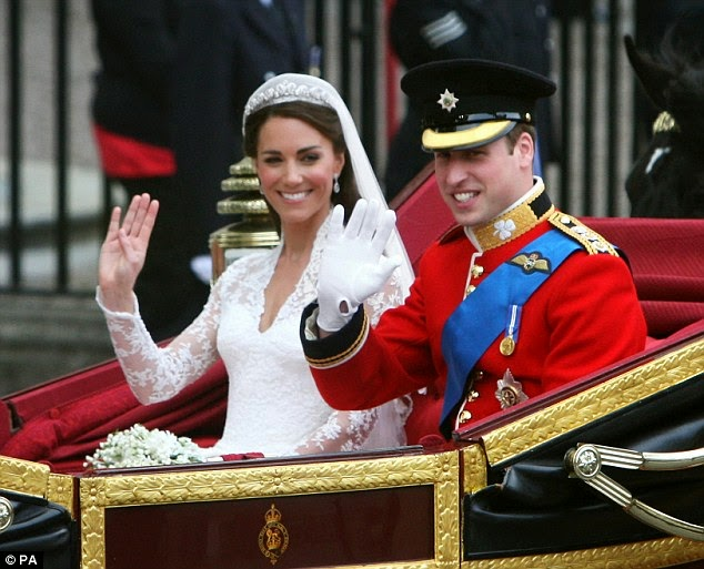 Prince William And Kate Middleton Celebrate 4th Wedding Anniversary