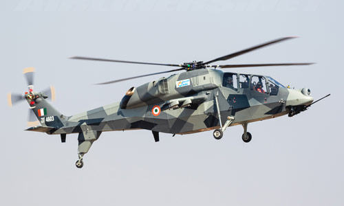 India's Light Combat Helicopter to Start Weapons Trials