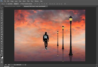 Cara Menggabungkan Gambar Seperti Asli Dengan Photoshop 36