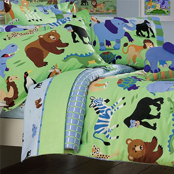 Owls Jungle Animals Wooden Bedroom Furniture Kids: Girls Bedding And Boys Bedding