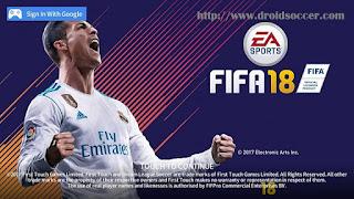 DLS 18 Mod FIFA 18 by Panji Apk + Obb