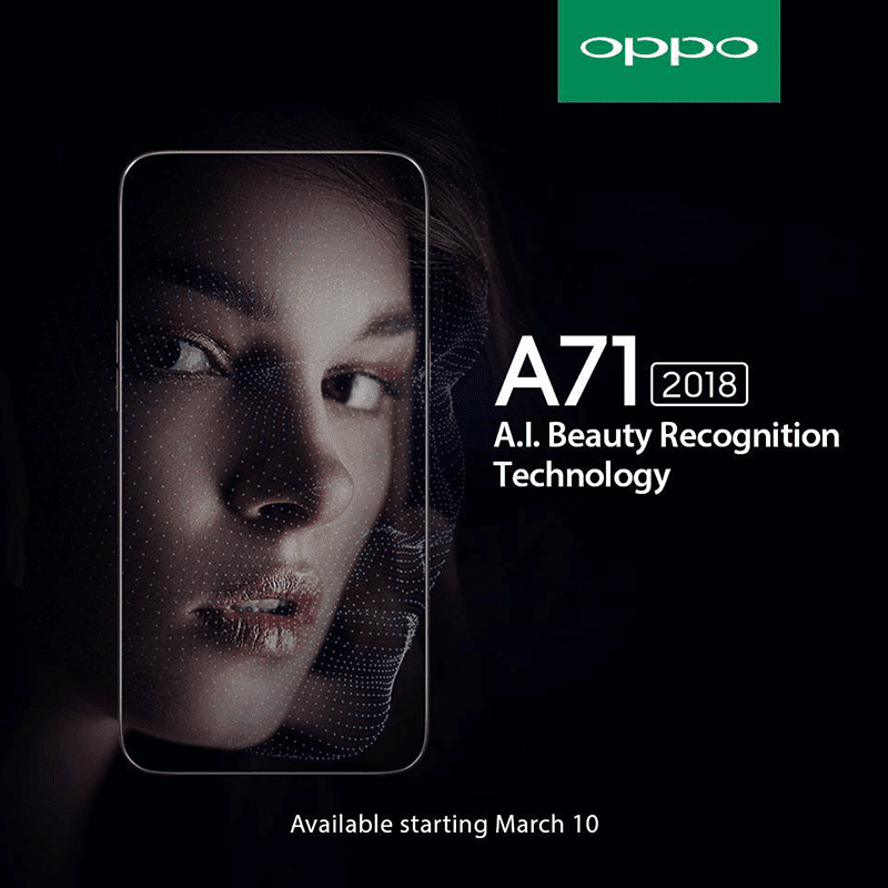 OPPO A71 (2018) will come with a very aggressive price?