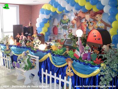 Decoração infantil Toy Story