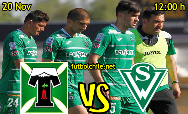 Ver stream hd youtube facebook movil android ios iphone table ipad windows mac linux resultado en vivo, online: Deportes Temuco vs Santiago Wanderers