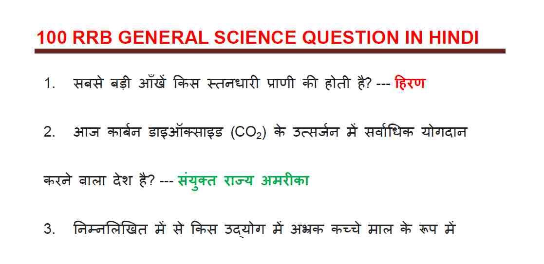 General Science (सामान्य विज्ञान) Notes in