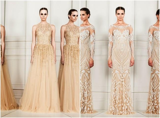 Zuhair Murad spring 2014 glamorous and elegant dresses