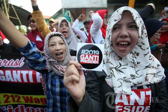 September, #2019GantiPresiden Deklarasi di Aceh dan Lampung