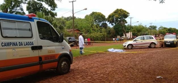 Campina da Lagoa: Homicídio é registrado no Distrito de Herveira