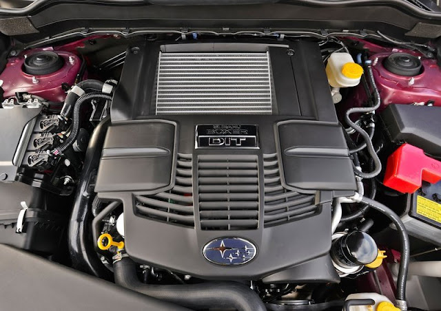 Subaru Forester US Version Engine