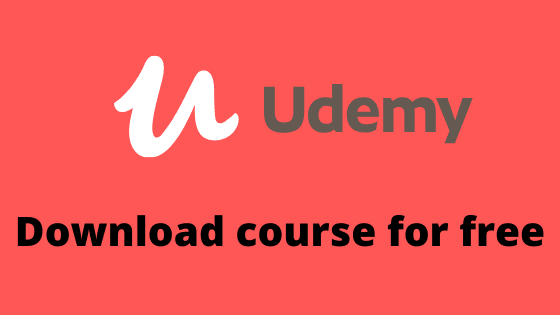 How to download any udemy paid courses for free