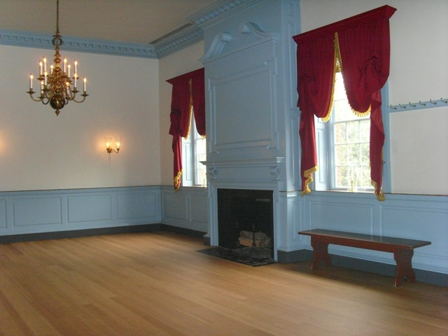 Interior of Gadsby's Tavern