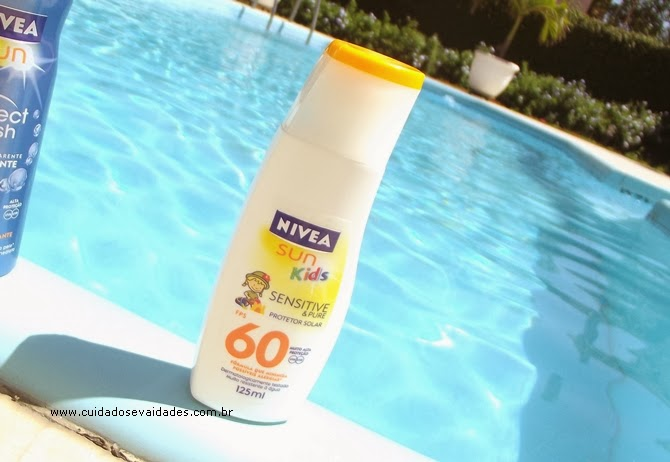 Nivea Sun Kids Sensitive Pure FPS 60