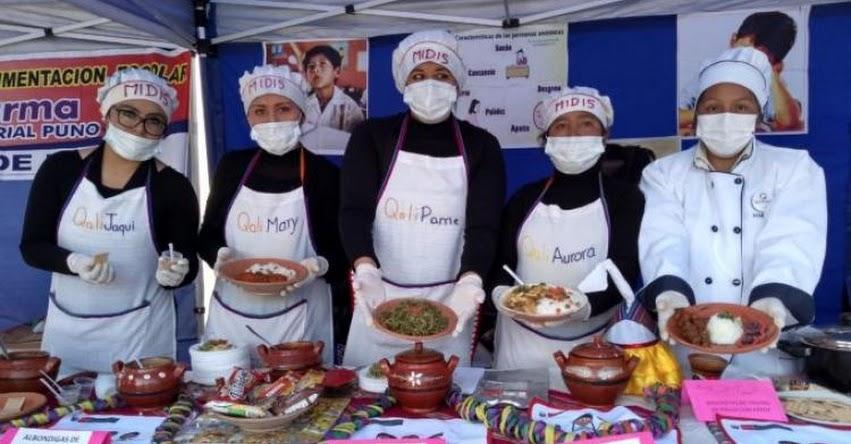 Qali Warma y Municipalidad de Puno articulan trabajo para reducir y controlar la anemia - www.qaliwarma.gob.pe