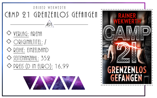 [Rezension] Camp 21 Grenzenlos gefangen - Rainer Wekwerth