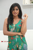 Actress Eesha Latest Pos in Green Floral Jumpsuit at Darshakudu Movie Teaser Launch .COM 0047.JPG