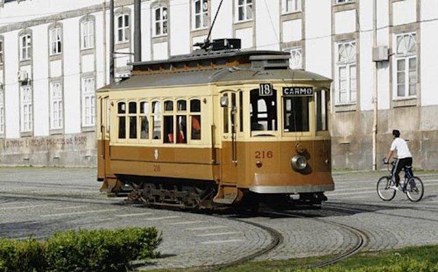 Linha 18 do Elétrico no Porto