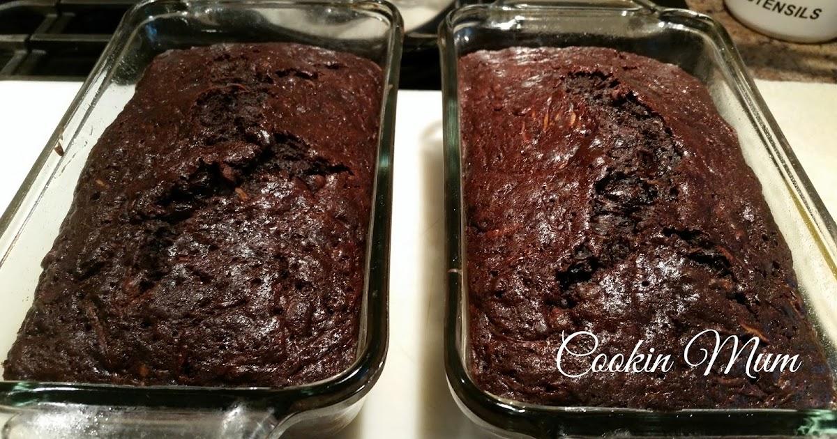 Chocolate Zucchini Cake No Eggs